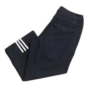Adidas Climacool golf capris navy size 14